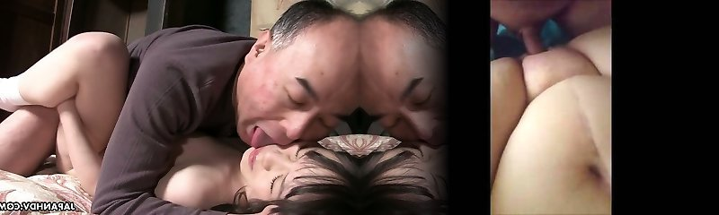 Mai Shimizu is a hot Asian nympho and she has an attraction for aged men