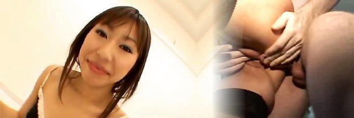 Haruka Mitsuki Asian doll gives big