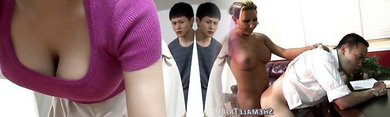 Incredible Japanese whore in Exotic HD, MILF JAV video