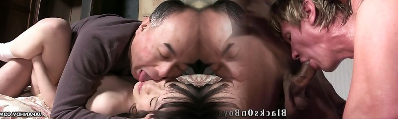 Mai Shimizu is a sizzling Chinese nymphomaniac and she has an attraction for older men