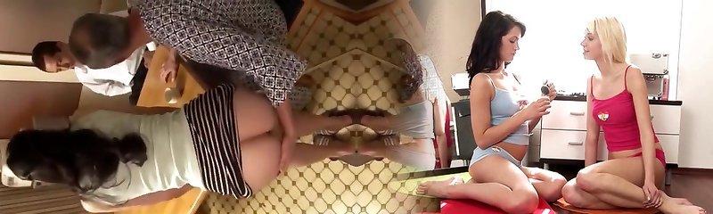 Pleasing Grandfather pt1- more at mantraporn.com