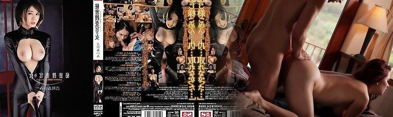 Amazing Japanese chick Aimi Yoshikawa in Best group sex, latex JAV clip