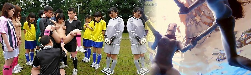 Soccer cuties get punished with cock and cum for mistakes - AviDolz
