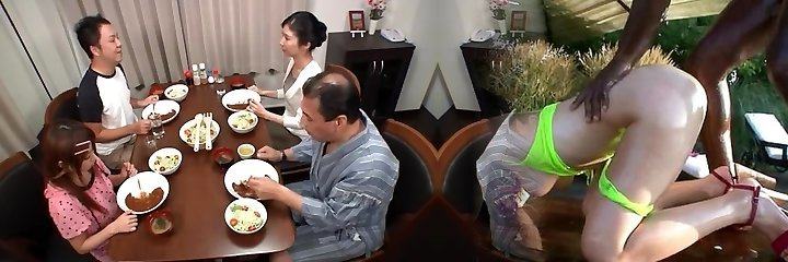 Insane Japanese chick Kenishi Narusawa, Love Satome, Cocomi Naruse in Jaw-dropping Doggy Fashion, Small Tits JAV movie
