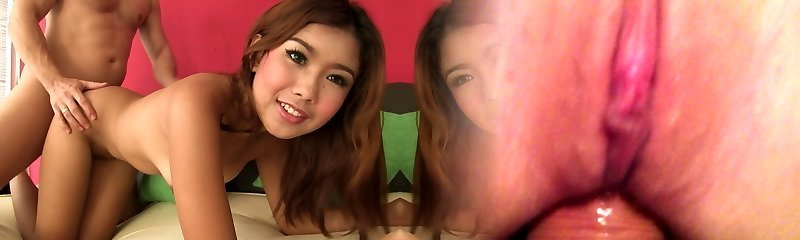 Virginal Thai teenie fucked raw on casting couch