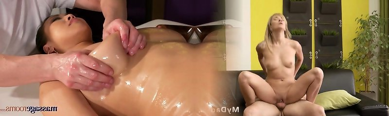 Massage Rooms Big natural tits Japanese cutie has squirting