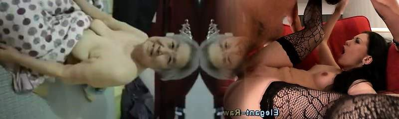 Chinese Granny with Saggy Mounds Fucked