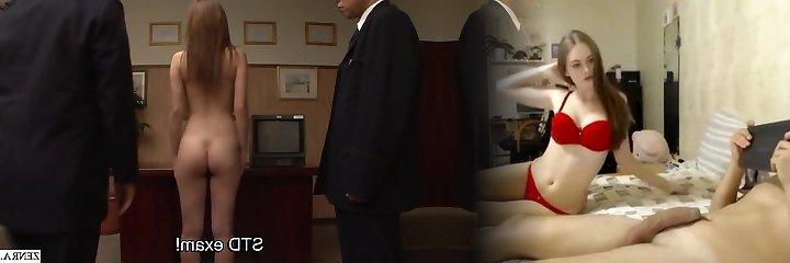 Uncensored JAV CMNF prisoner ass-fuck inspection Subtitled
