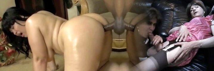 chunky asian anal