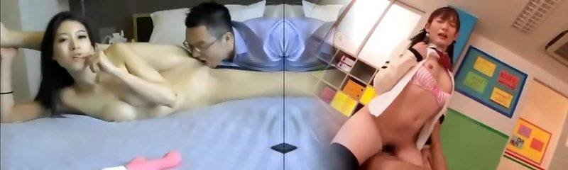 Horny couple chinese acrobatic ravage