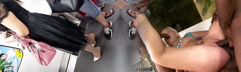 metro tights candid
