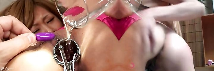 japanese spraying playthings inside pussy fingering dp facials anal...BMW