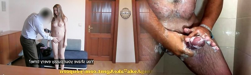 FakeAgent HD Mind-blowing amateur gets her first creampie