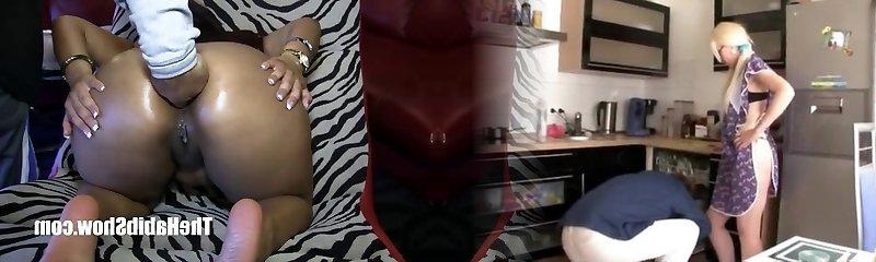 Pure Freaksexy asian Katt Dylan nailed by Big Black Cock Romemajor