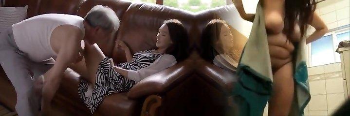 the elderly nan and nice girl sex scene