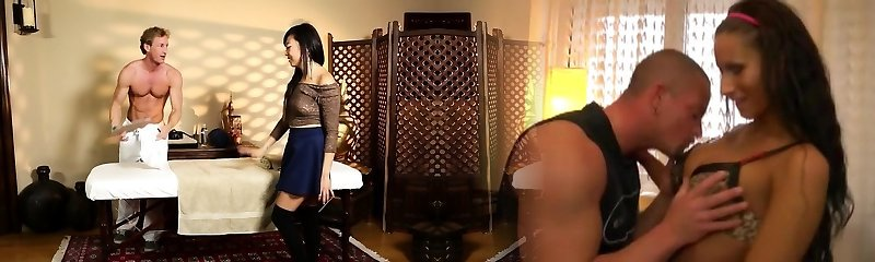 Oriental honey massaged and pounded