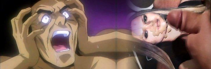 Lengthy hair Japanese anime hot fucking