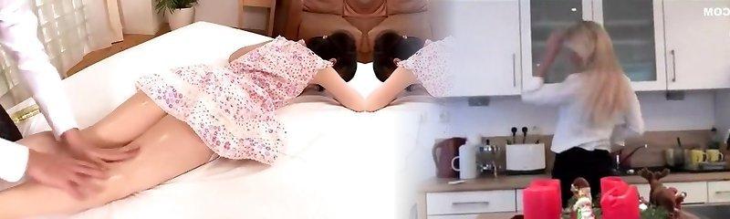 Fabulous Japanese model Kami Kimura in Impressive Massage JAV clip