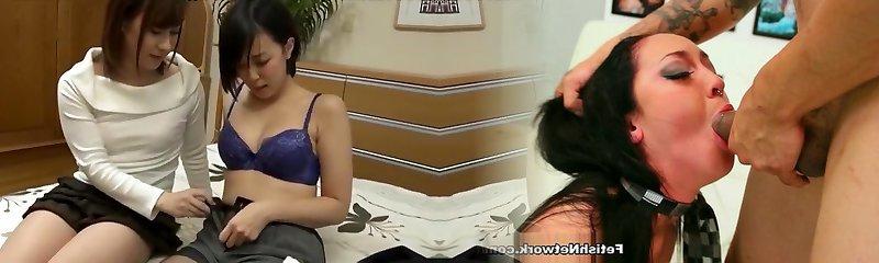Horny Japanese biotch in Naughty JAV clip