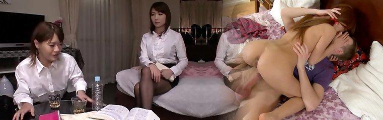Incredible Japanese gal in Horny Masturbation, Small Tits JAV gig