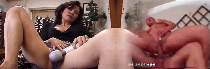 Mom is caught masturbating