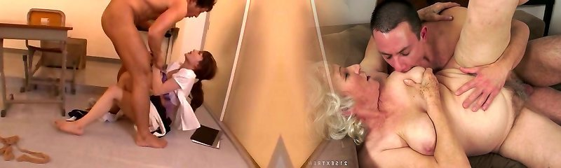 Beautiful Chinese babe Rio horny teacher gets man meat