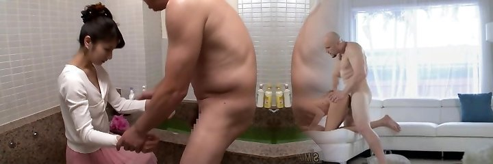 Incredible Japanese model Kiara Suzuki in Crazy showers, couple JAV flick