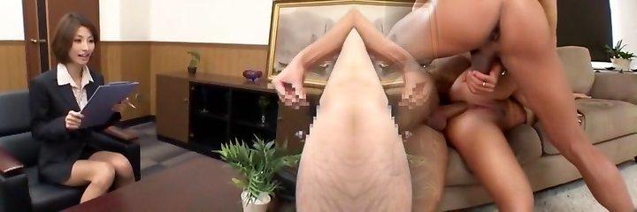 Exotic Japanese chick Akari Asahina in Best Censored, Cumshots JAV scene