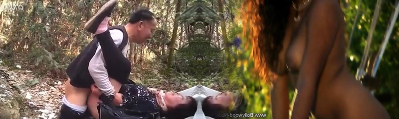 Asian Dad in the woods 5