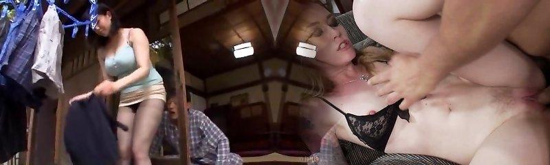 Best Asian slut Natsumi Kimono in Wild Cunnilingus, Blowjob JAV clip