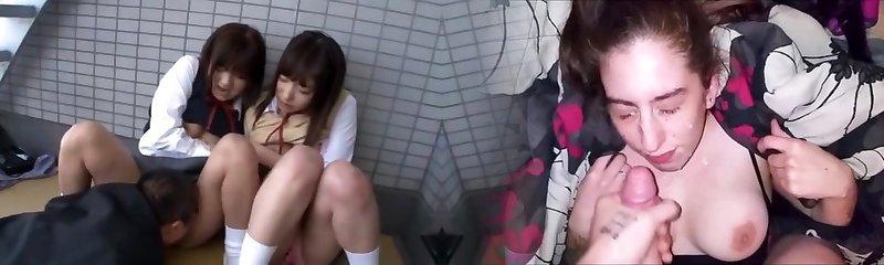 Best Japanese chick Yua Aihara, Makoto Takeuchi, Iku Sakuragi in Finest Pussy Eating, College/Gakuseifuku JAV clip