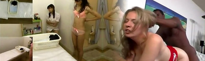Massage covert camera filmed a slut giving handjob