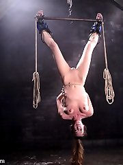 Once again Jade Marxxx graces our Waterbondage dungeons. In scene one she struggles hard against multiple orgasms in what she called one of the tightest ties she has ever been in.  And speaking of struggling, scenes 2 and 4 show us that predicament bondage produces terrific struggling.  Not many models love bondage as much, orgasm as many times and make us all as happy as Jade Marxxx does.  We love you Jade!
