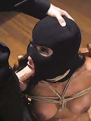 When protest leader Sadie Santana becomes a problem for a leading candidate, the campaign dispatches The Fixer.  Tommy Pistol handles the the problem with his usual aplomb and toolbox of hardcore BDSM Action and Rough Anal Sex!Hooded and masked hottie Sadie Santana is a strong willed protester with an attitude! Tommy chips away at her searing will with heavy humiliation, gags, whips, bondage, sexual interrogation and straight up hardcore sexual domination.