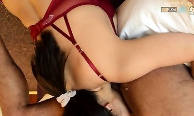 Indian Magnificent Mumbai Bhabhi Sloppy Sex MMS