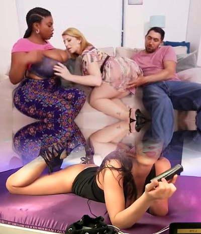 big tit black