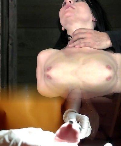 Hogtied bdsm submissive soles tickled