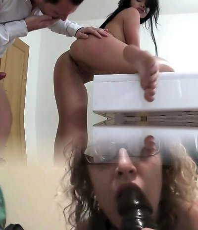 FakeAgent Horny student in casting interview
