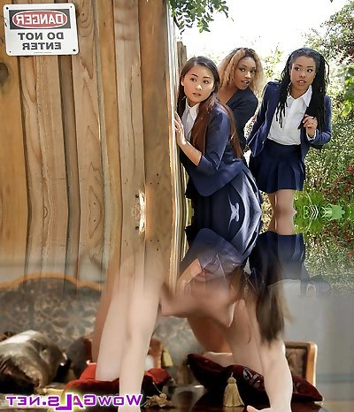 Kira Noir & Chad Milky in Penalizing The Pool Hopper - TeensLoveHugeCocks