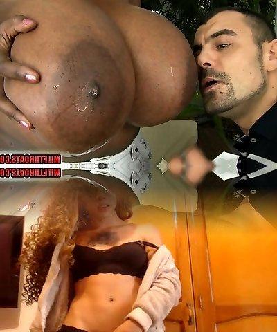 Brazilian mature sex with cumshot