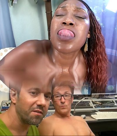 Crazy adult movie star Ms. Cleo in epic facial, big ass adult clip