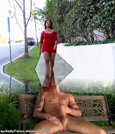 Incredible pornstar Sienna Dream in splendid brazilian, black and dark-hued adult movie
