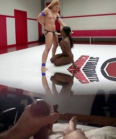 Cheyenne Clittie, Kelli Provocateur, Muscles, Wrestling