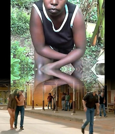 African gigantic ass and real orgasm inexperienced