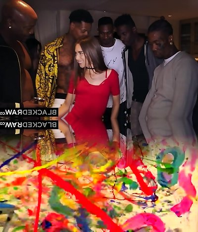 BLACKEDRAW My girlfriend got gang-fucked at the after party