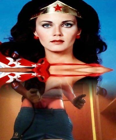 Wife Wonder Woman Milf Hard Gangbang Big Black Cocks