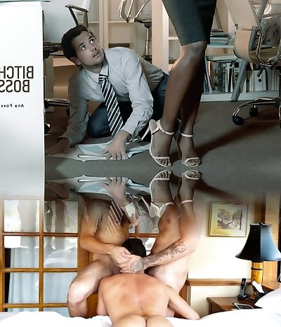 Ana Foxxx in Bitch Boss - OfficeObsession