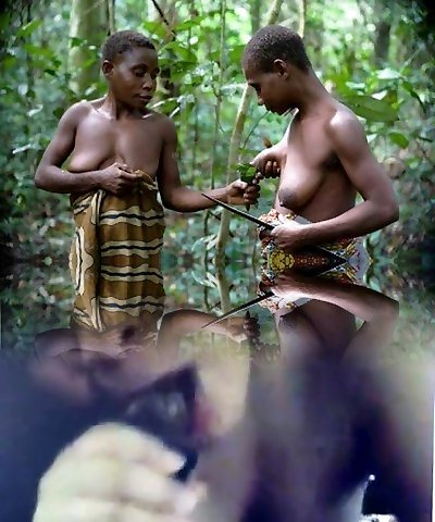 Real Youthful African GFs!