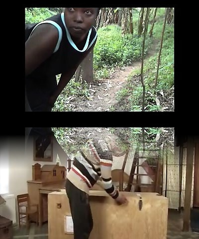 African thick ass and real orgasm amateur