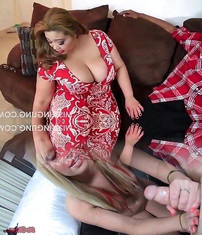 Asian Plus-size Slut Begs for Hefty Black Cock